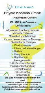FRONT SIDE Flyer Physio Kosmos