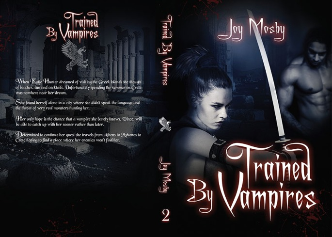trained by vampires book cover